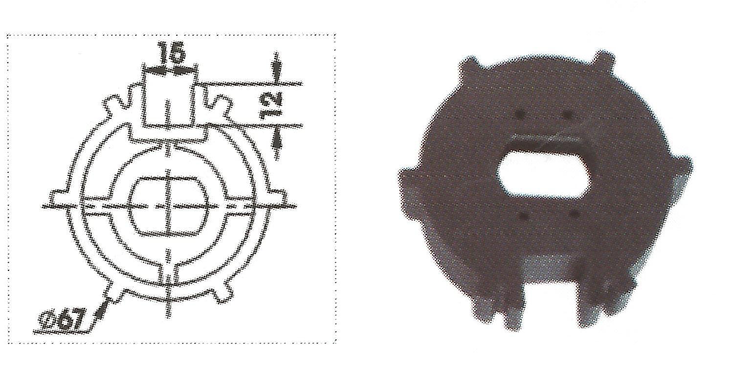 Motor tubular para toldo 20nm 35kg 17 rpm s manivela - Motor para toldo ...
